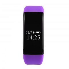 V6 Purple Silicon Deportes Wristband Deep WaterProof rápida carga inteligente pulsera